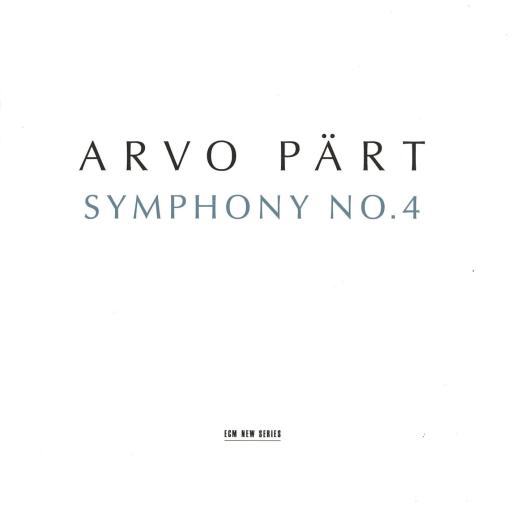 Symphonie no. 4 / Arvo Pärt |