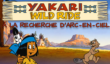 Yakari wild ride : à la recherche d'arc-en-ciel |