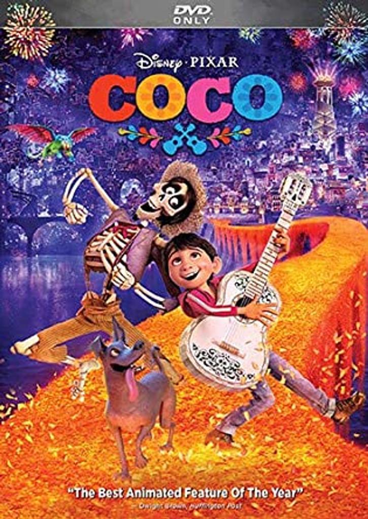 Coco / Lee Unkrich, Adrian Molina, réal. |