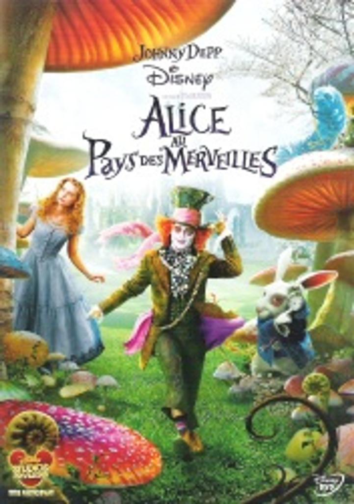 Alice au pays des merveilles = Alice in Wonderland / Tim Burton, réal. |