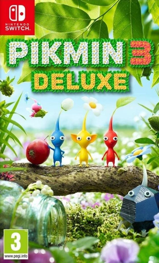 Pikmin 3 - Deluxe  |
