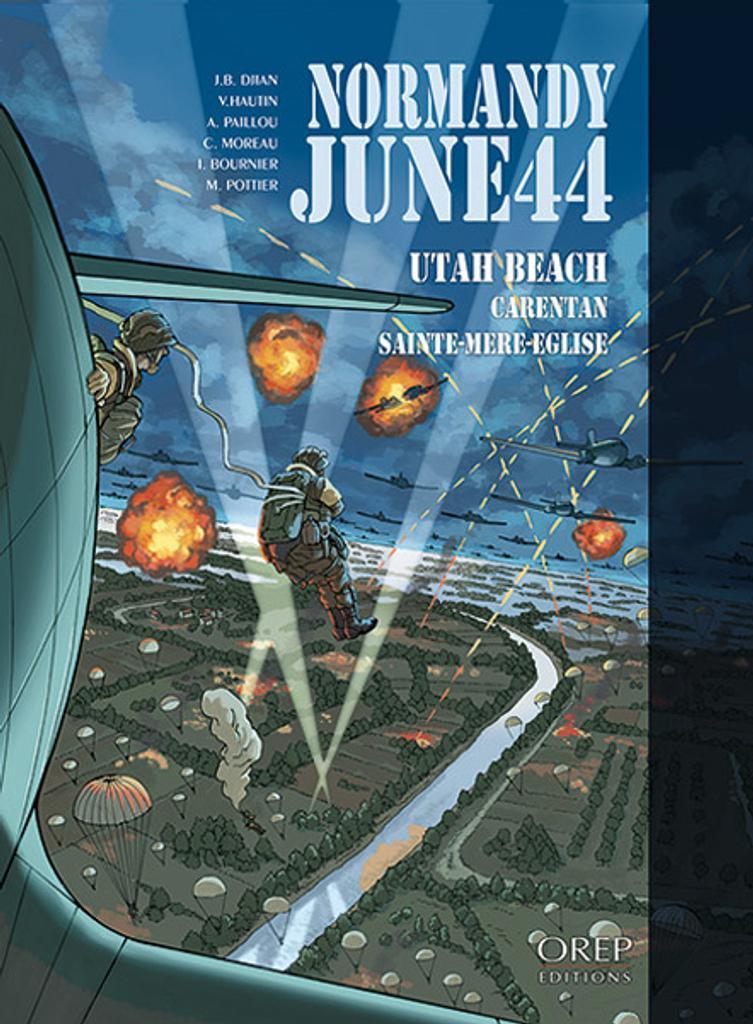 Normandy, june 44. 2, Utah Beach : Carentan, Sainte-Mère-Eglise  