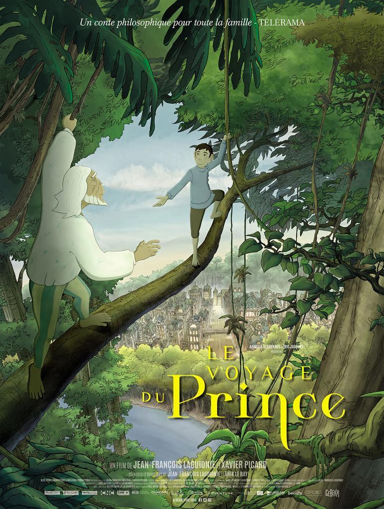 Le voyage du Prince / Jean-François Laguionie, Xavier Picard, réal.  