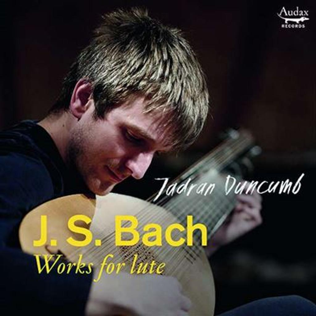 Works for lute = Oeuvres pour luth / Jean-Sébastien Bach  
