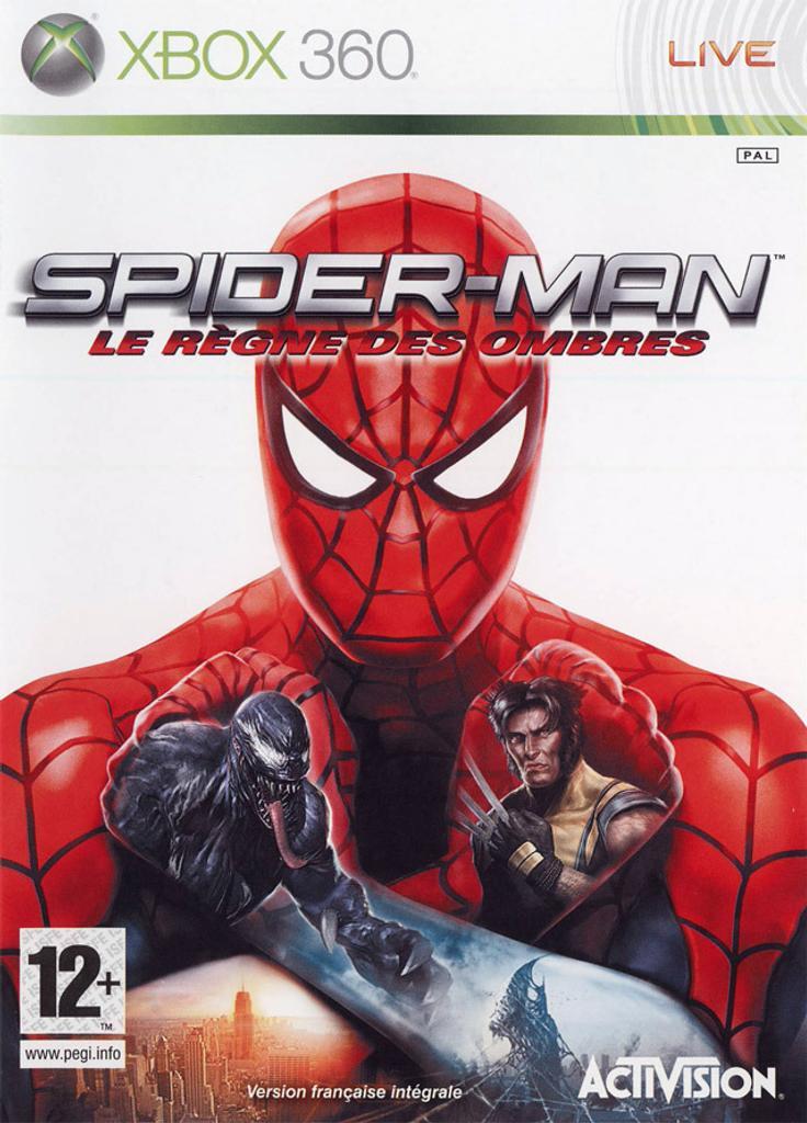 Spiderman - Le règne des ombres X-BOX 360 |