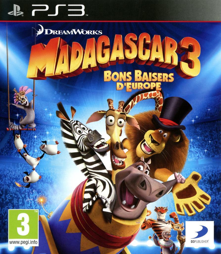 Madagascar 3 - PS3  |