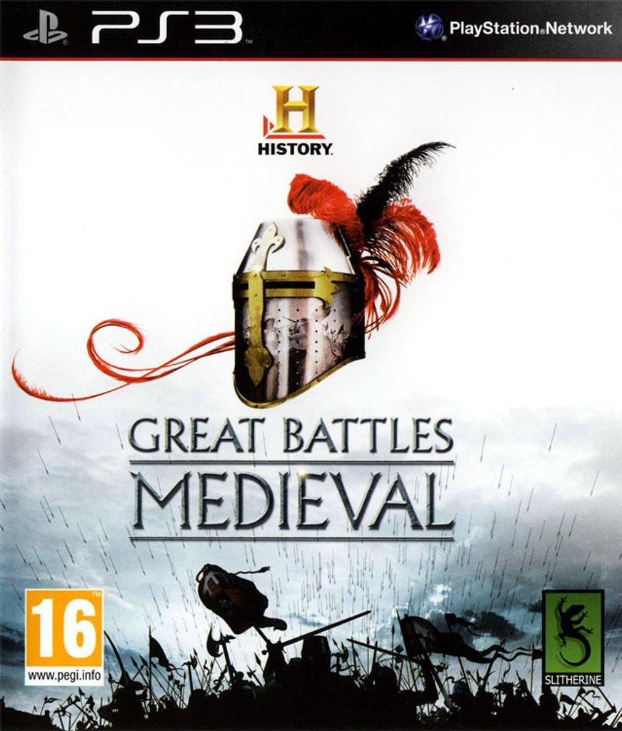 Great battles Medieval - PS3   