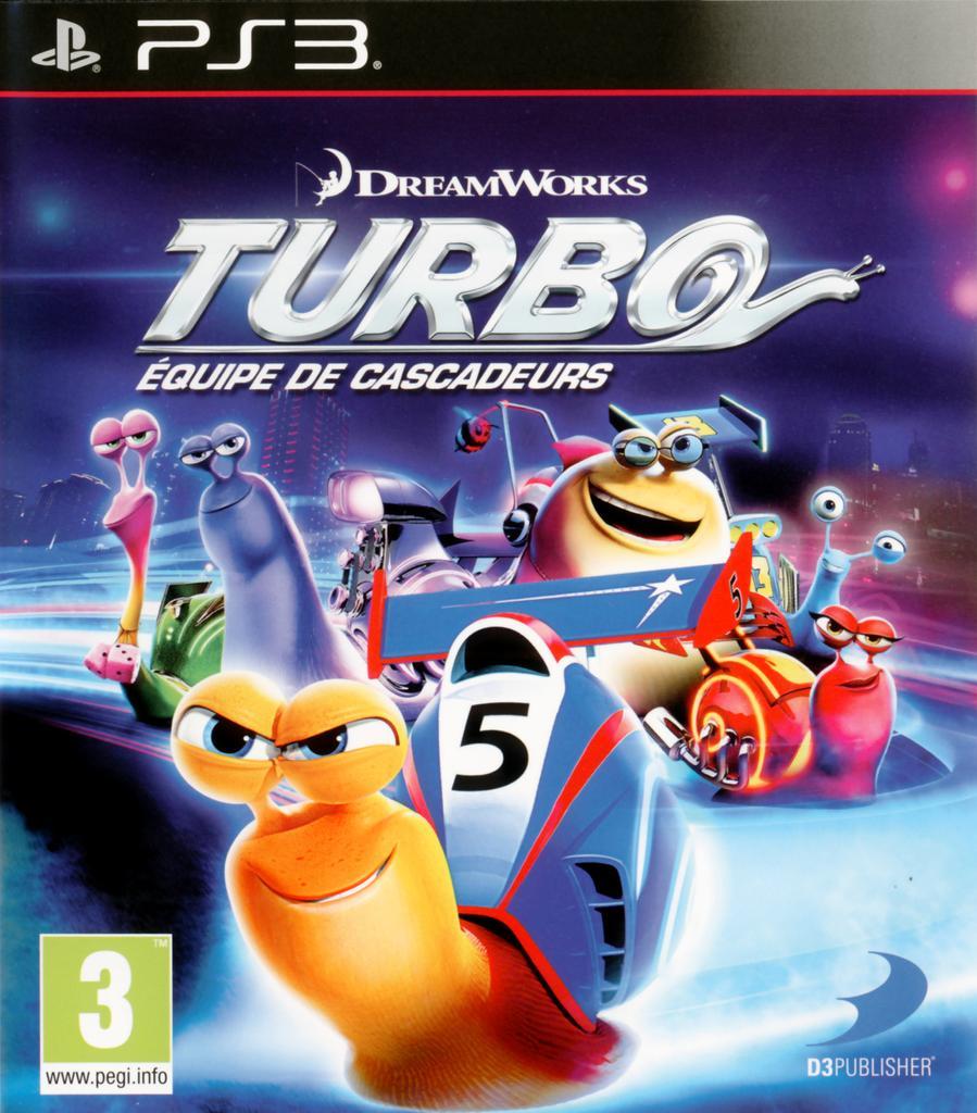 Turbo - Équipe de cascadeurs - PS3   