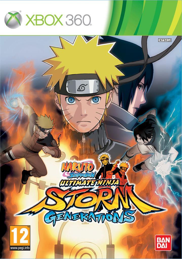 Naruto Shippuden - Ultimate Ninja Storm - Generations - XBox 360  |