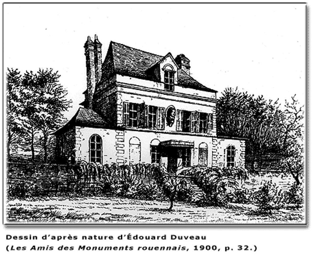 La maison de campagne des Flaubert à Déville-les-Rouen / Daniel Fauvel ; Hubert Hangard |
